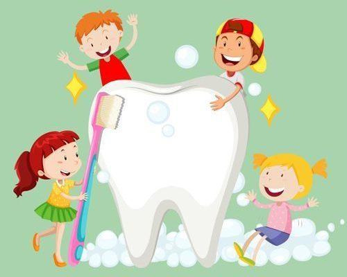animar a los niños al cepillado dental