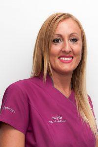 Sofía González Lope - Atención al paciente- Secretaria